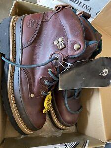 BRAND NEW Georgia Boot Women's Size 10 Steel Toe Work Boots Brown G3374