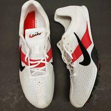 Nike Zoom Miler Unisex Track Spikes Men 6 Women 7.5 White Red Black