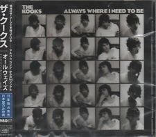 THE KOOKS Always where I need to be JAPANESE 4 TRACK CD NEW - STILL SEALED