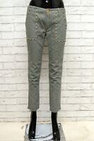 Pantalone REPLAY Donna Taglia Size 25 Jeans Pants Woman Cotone Slim Skinny Fit