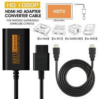 HDMI Converter For Nintendo N64 NGC SNES SFC HDMI 720P Video Retro Game Console