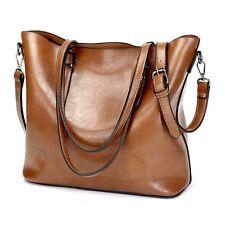 Women Leather Handbag Shoulder Ladies Purse Messenger Satchel Crossbody Tote Bag