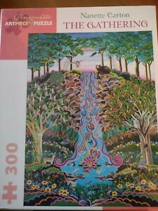 Pomegranate The Gathering 300pc Jigsaw Puzzle new sealed