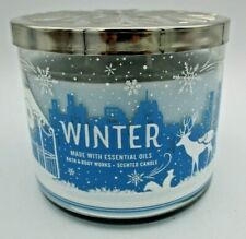 Bath & Body Works Winter Scented Candle, 3 Wicks 14.5 oz  -  Brand New