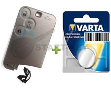 Renault Espace 4 Laguna 2 VelSatis Schlüssel Karte 3 Tasten Batterie button Key