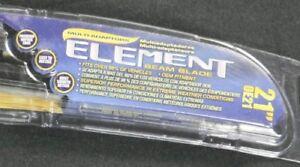 Windshield Wiper Blade-Element Premium Vision OE21