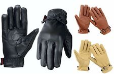 EVO Pure Premium Real Cow Hide Leather Gloves Riding Winter Wear Fashion Unisex