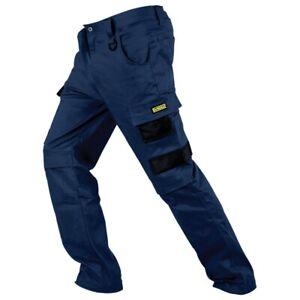 DEWALT Navy PROStretch Extreme Comfort Workwear Trousers - 32 Navy
