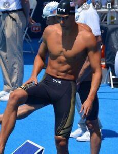 TYR AP12 Tech suit Jammer racing swimskin competition speedsuit technical FINA