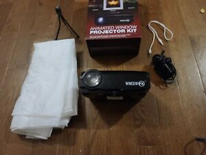 WINDOW FX VIDEO PROJECTOR DECORATING KIT - USED OPEN BOX - FREE SHIPPING!