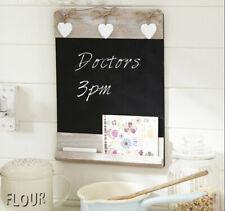 Vintage Wooden Chalk Board Sign Blackboard Message Board Wedding Kitchen Menu