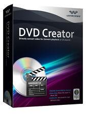Wondershare DVD Creator WIN Vollversion lebenslang lifetime Download -AKTION !