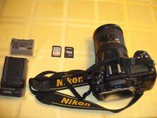 Nikon D7000 16.2MP Digital SLR Camera - Black (Kit w/ 18-200 AF-S DX ED VR lens)