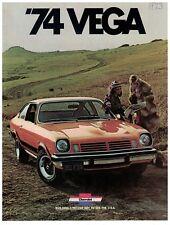 1974 Chevrolet Vega Sales Booklet Original