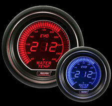 "Evo Series Water Temperature Gauge-Electric 52mm 2 1/16"" Red and Blue"