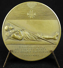 Médaille first World War for the dead USA américan soldier A J Corbierre Medal