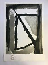 Bram van Velde - Hantise - Mason/Putman - 1989 - Offset Poster