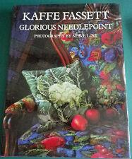 GLORIOUS NEEDLEPOINT Kaffe Fassett Hardback Book