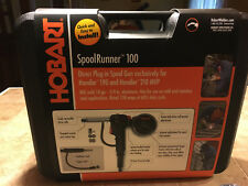 Hobart Spoolrunner 100 Mig Welder Gun /Gas NEW OPEN BOX w/case Wire feed/Plug-in