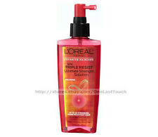 L'OREAL* 5.1 oz Ultimate Strength Solution TRIPLE RESIST Leave-In Treatment HAIR
