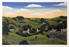"""THOMAS MCKNIGHT """"COLONIAL VALLEY"""" 1990 
