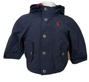 Ralph Lauren Baby Boys Aviator Windbreaker Jacket Coat Outerwear 9M