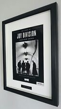 Ian Curtis-Joy Division-Framed Original NME-Plaque-Certificate-NEW-RARE-