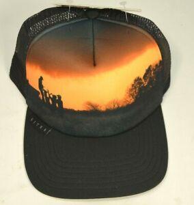 Sitka Trucker Cap Hat Landscape Whitetail Snapback Meshback Black OSFA Big Game