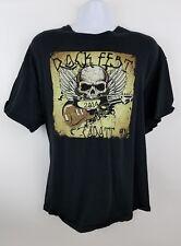 Rock Fest 2014 Cadott Wisconsin Concert T Shirt 2XL