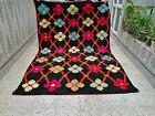 Moroccan Handmade Vintage Wool Rug Azilal Berber Rug Beni ourain Tribal Carpet