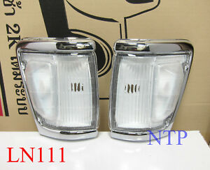 FOR TOYOTA HILUX LN106 LN108 LN107 RN105 YN106 CLEAR CORNER INDICATOR LIGHT PAIR