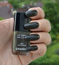 New Authentic CHANEL Le Vernis Nail Colour 601 Mysterious Deep Khaki Olive Fall