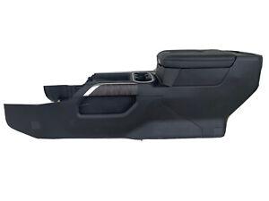 2019 2020 2021 Chevy SILVERADO GMC SIERRA FULL CENTER CONSOLE BLACK WIRELESS