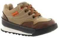 Boy's Toddlers CARTER'S TACT14 Brown Lace Athletic Casual Sneakers Shoes New