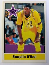 1992 Sports Stars USA #1 Draft Pick Shaquille O'Neal Rookie RC #NNO4, LSU, Promo
