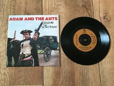"""ADAM & THE ANTS -STAND AND DELIVER : NM UK 7"""" VINYL SINGLE CBS A1065 PLAYS GREAT"""