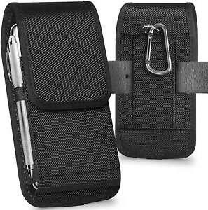 Universal Belt Loop Hook Cover Pouch Bag Nylon Case For All Mobile Phone Holster