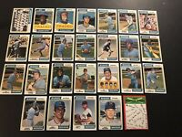 1974 Topps MILWAUKE BREWERS Complete Set of 26 Cards DON MONEY Gorman THOMAS