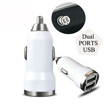 Dual USB Port Universal Car Charger with Data Sync Cable Charger Cord for iPhone