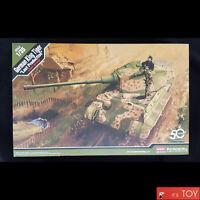 Academy 1/35 GERMAN KING TIGER Last Production Ver Tank Plastic model kit #13229