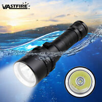 10000LM XM-L T6 LED Scuba Diving Flashlight Torch Waterproof Underwater 100M
