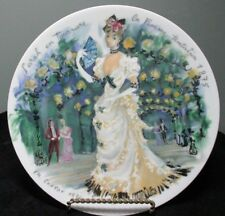 """D'Arceau Limoges France """"Women of the Century"""" Collector Plate ~ Sarah 1875"""