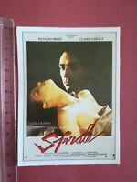 FICHE CINÉMA Première FILM - spirale 1987 R Berry C Nebout T Karyo J Bouise