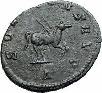 GALLIENUS Authentic Genuine Ancient 267AD Rome Genuine Roman Coin PEGASUS i78745