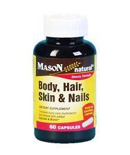 Mason Body, Hair, Skin - Nails, 60 Capsules