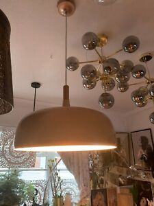 RRP£250 Ixia RARE sold out LARGE Spanish Designer pendant light lamp gloss