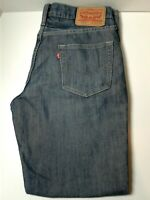 Levis 514 Jeans Straight Men's Size 30 x 29 Distressed Silvered Med Wash