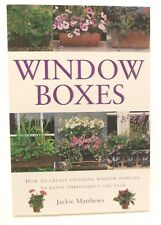 Gardening Books x 4 Jackie Matthews including Window Boxes, Planting for Colour