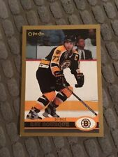 Boston Bruins Single Hockey Trading Cards
