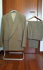 Traje con chaqueta cruzada Christian Dior talla 50